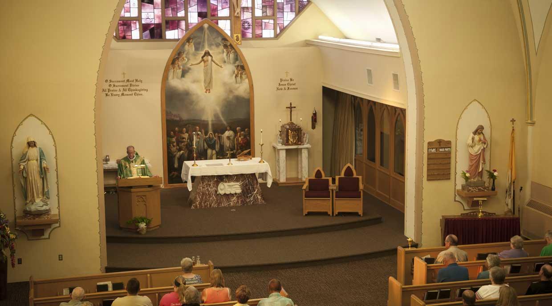 St  Anthony Catholic Church in Columbus, NE
